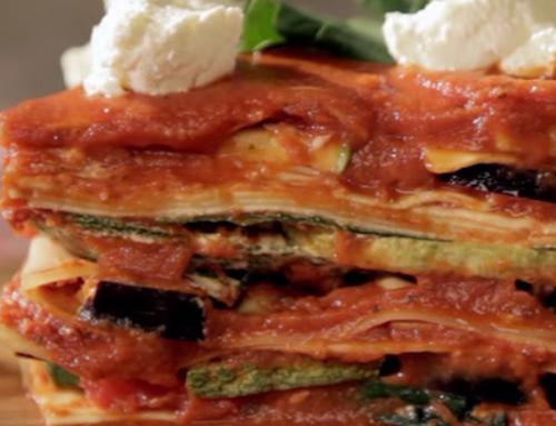 ¿Cómo preparar lasaña vegetariana?