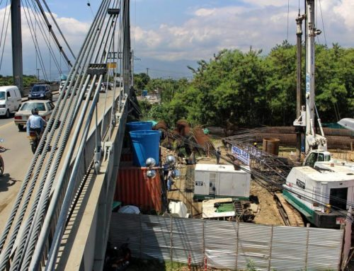 Avanza construcción de puente de Juanchito