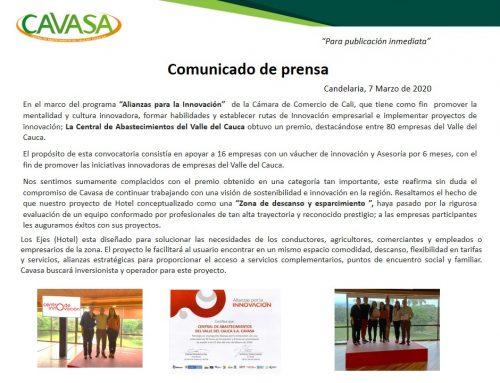 Felicitaciones Cavasa