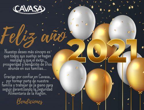 Bendecido 2021 te desea la Familia Cavasa