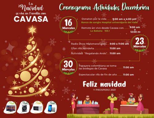 La Navidad se vive en familia con Cavasa…